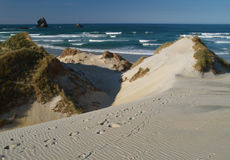 Sandfly bay Royalty Free Stock Image