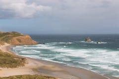 Sandfly-Bucht vor Sturm Stockbild