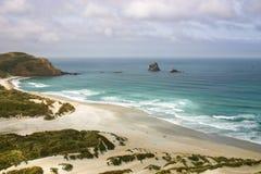 Sandflyfjärd, Otago halvö, Nya Zeeland Royaltyfria Bilder