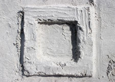 sandfyrkant arkivbilder
