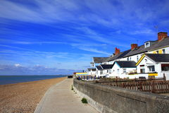 Sandgate beach Folkestone Kent UK Stock Photos