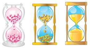 Sandglass Royalty Free Stock Image