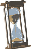 Sandglass Stock Image