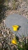 """Sandglass bij de steen â """"– 1 Stock Foto"""