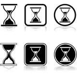 Sandglass icon Stock Images