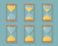 Sandglass Icons Royalty Free Stock Images