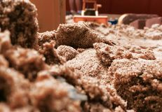 Sandgrop Arkivbild