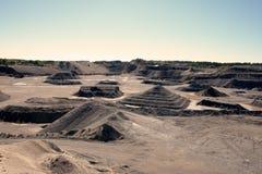 Sandgrop Arkivfoton