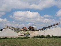 Sandgrube Lizenzfreies Stockfoto
