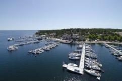 Sandhamn archipelag Sztokholm Zdjęcia Royalty Free