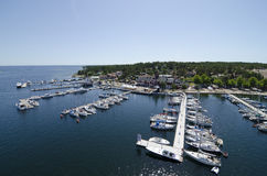 Sandhamn Stockholm archipelago Royalty Free Stock Photos
