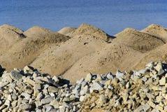 Sandheap 06 royalty-vrije stock foto