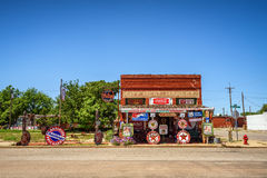 Sandhills Curiosity Shop located in Erick, Oklahoma Stock Images