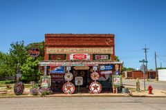 Sandhills Curiosity Shop located in Erick, Oklahoma Royalty Free Stock Images