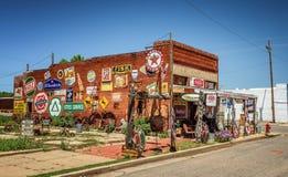 Sandhills Curiosity Shop located in Erick, Oklahoma Royalty Free Stock Photo