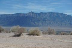Sandia mountain view Royalty Free Stock Image