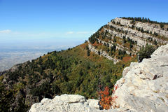 Sandia mountains Stock Photo