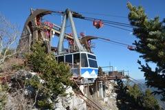 Sandia Mountains Tramway Stock Image