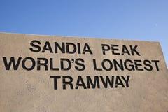 Sandia Peak Stock Images