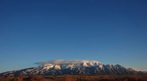 Sandia peak Royalty Free Stock Images