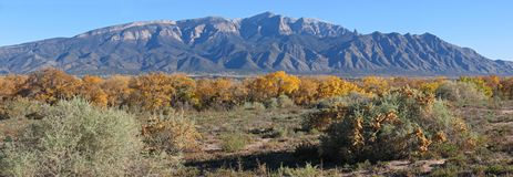 Sandia Peak mountain Stock Photography