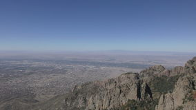Sandia peak New Mexico stock video