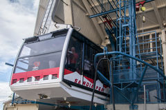 Sandia Peak Tram in Albuquerque New Mexico Royalty Free Stock Image