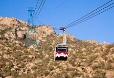 Sandia Peak Tramway Royalty Free Stock Photo