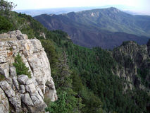 Sandia Peak Vista Royalty Free Stock Photos