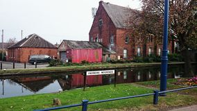 Sandiacre canal Royalty Free Stock Photo