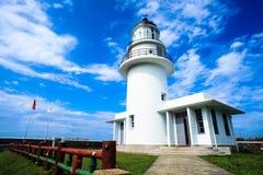 Sandiaojiao lighthouse, Taiwan Royalty Free Stock Photography