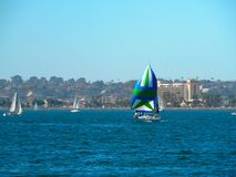 SanDiego Harbor Stock Photography