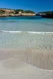 sandig strand Royaltyfri Fotografi