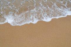 Sandig strand royaltyfria foton