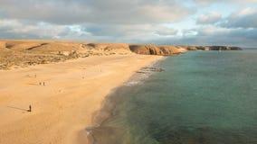 Sandig strand Royaltyfri Bild