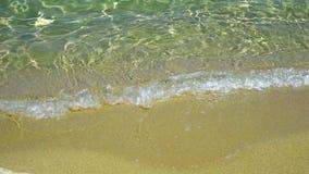 Sandig strand arkivfilmer