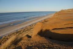 sandig sylt för strand royaltyfria bilder