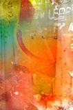 sandig textur Arkivfoto