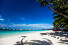 sandig tropisk white för strand Arkivfoton