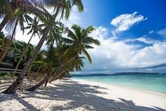 sandig tropisk white för strand Royaltyfria Foton