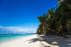 sandig tropisk white för strand Royaltyfri Foto