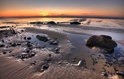 Sandiga Tidepools Royaltyfri Fotografi