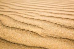 Sandiga vågor, strand på den Ceylon kusten Arkivbilder