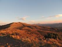 Sandiger Hügel des Herbstes Lizenzfreies Stockbild
