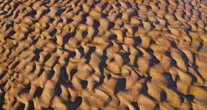 Sandiger Hintergrund Hinterlandaustraliens Stockbilder