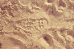 Sandiger Strand des leeren Raumes Lizenzfreies Stockbild
