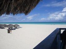 sandigt strandhav Royaltyfri Foto