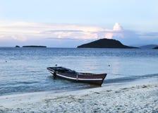 sandigt strandhav Arkivfoto