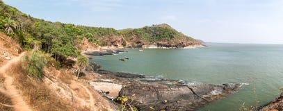 sandigt strandhav vatten för sikt för oklarhetshavsky Royaltyfri Foto