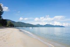 sandigt tropiskt för strand Royaltyfri Fotografi
